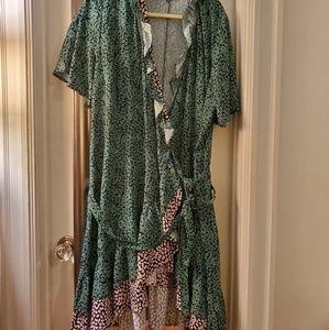 Eloquii wrap dress size 20